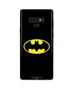 Batman Official Logo Galaxy Note 9 Skin