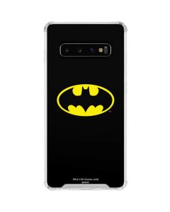 Batman Official Logo Galaxy S10 Clear Case
