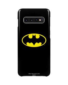 Batman Official Logo Galaxy S10 Lite Case