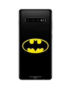 Batman Official Logo Galaxy S10 Plus Skin