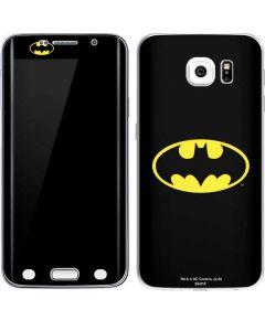 Batman Official Logo Galaxy S6 Edge Skin