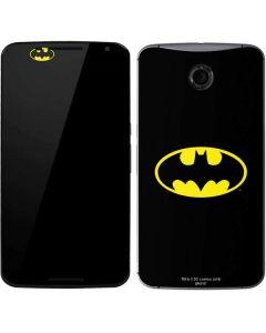 Batman Official Logo Google Nexus 6 Skin