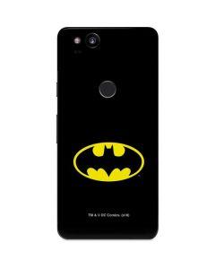 Batman Official Logo Google Pixel 2 Skin