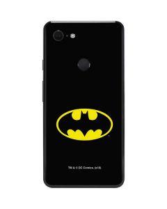 Batman Official Logo Google Pixel 3 XL Skin
