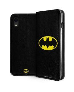 Batman Official Logo iPhone XR Folio Case