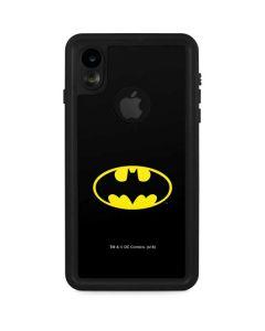 Batman Official Logo iPhone XR Waterproof Case