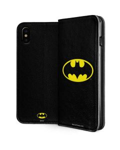 Batman Official Logo iPhone XS Max Folio Case