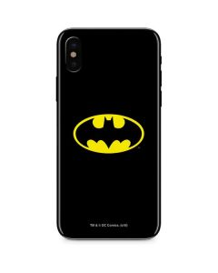Batman Official Logo iPhone XS Skin