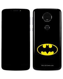 Batman Official Logo Moto E5 Plus Skin