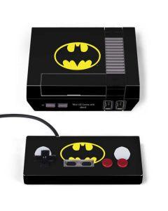 Batman Official Logo NES Classic Edition Skin