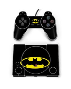 Batman Official Logo PlayStation Classic Bundle Skin