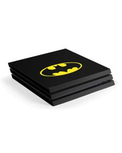 Batman Official Logo PS4 Pro Console Skin