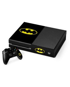 Batman Official Logo Xbox One Console and Controller Bundle Skin