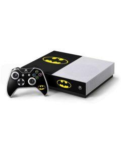 Batman Official Logo Xbox One S All-Digital Edition Bundle Skin