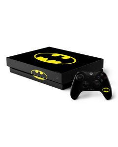 Batman Official Logo Xbox One X Bundle Skin