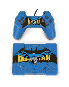 Batman Vintage PlayStation Classic Bundle Skin