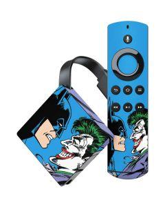 Batman vs Joker - Blue Background Amazon Fire TV Skin