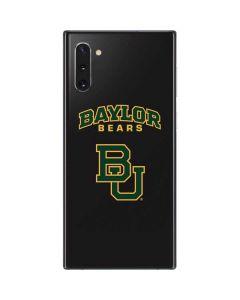 Baylor Bears BU Galaxy Note 10 Skin
