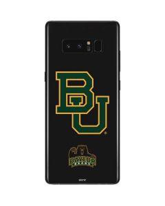 Baylor Bears BU Galaxy Note 8 Skin