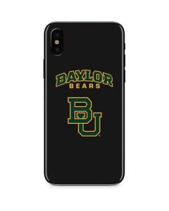 Baylor Bears BU iPhone XS Skin