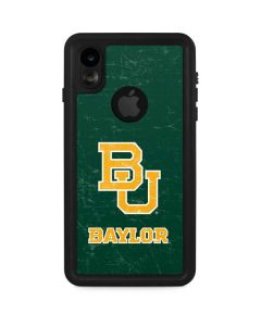 Baylor Bears Distressed iPhone XR Waterproof Case