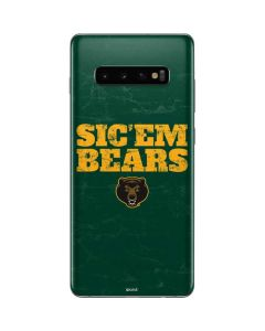 Baylor Bears Sic Em Galaxy S10 Plus Skin