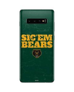 Baylor Bears Sic Em Galaxy S10 Plus Skin