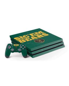 Baylor Bears Sic Em PS4 Pro Bundle Skin