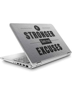 Be Stronger Than Your Excuses ENVY x360 15t-w200 Touch Convertible Laptop Skin