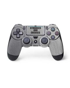 Be Stronger Than Your Excuses PS4 Pro/Slim Controller Skin
