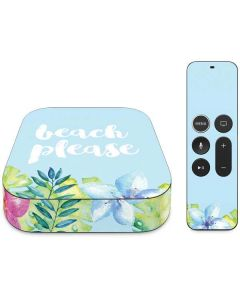 Beach Please Apple TV Skin