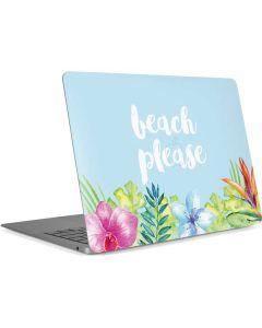 Beach Please Apple MacBook Air Skin