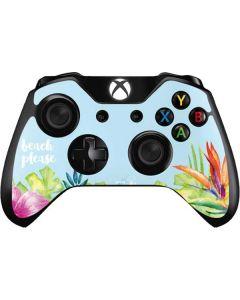 Beach Please Xbox One Controller Skin