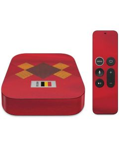 Belgium Soccer Flag Apple TV Skin