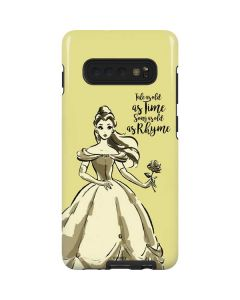 Belle Tale As Old As Time Galaxy S10 Plus Pro Case