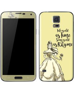 Belle Tale As Old As Time Galaxy S5 Skin