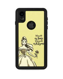 Belle Tale As Old As Time iPhone XR Waterproof Case