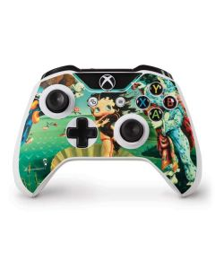 Betty Boop at Sea Xbox One S Controller Skin