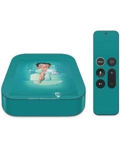 Betty Boop Bathing Apple TV Skin