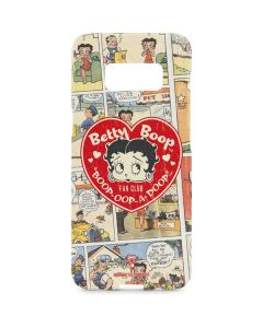 Betty Boop Comic Strip Galaxy S8 Plus Lite Case