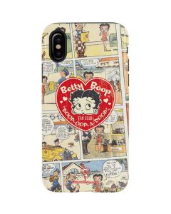 Betty Boop Comic Strip iPhone XS Max Pro Case