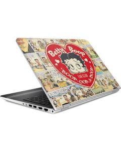 Betty Boop Comic Strip HP Pavilion Skin