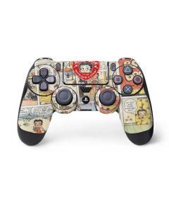 Betty Boop Comic Strip PS4 Controller Skin