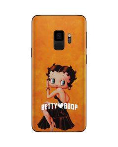 Betty Boop Little Black Dress Galaxy S9 Skin