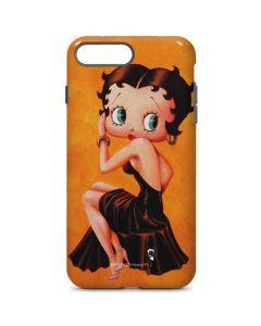 Betty Boop Little Black Dress iPhone 8 Plus Pro Case