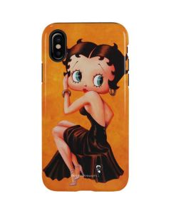 Betty Boop Little Black Dress iPhone X Pro Case