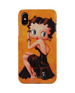 Betty Boop Little Black Dress iPhone XS Max Lite Case