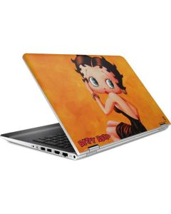 Betty Boop Little Black Dress HP Pavilion Skin