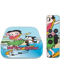 Betty Boop Surfing Apple TV Skin