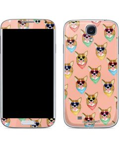 Corgi Love Galaxy S4 Skin